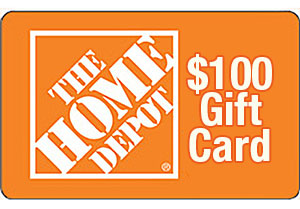 Customer Survey for $100 Home Depot Gift Card Draw