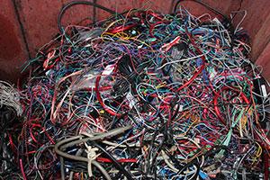 scrap copper wires